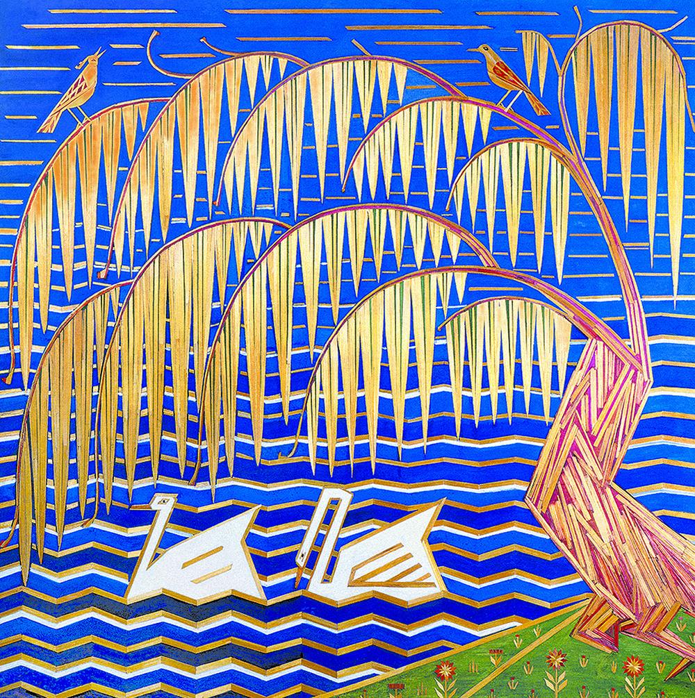 Учився у Кричевського, виставлявся з Приймаченко: У Києві відкривається виставка мозаїк із соломи Олександра Саєнка (фото 8)