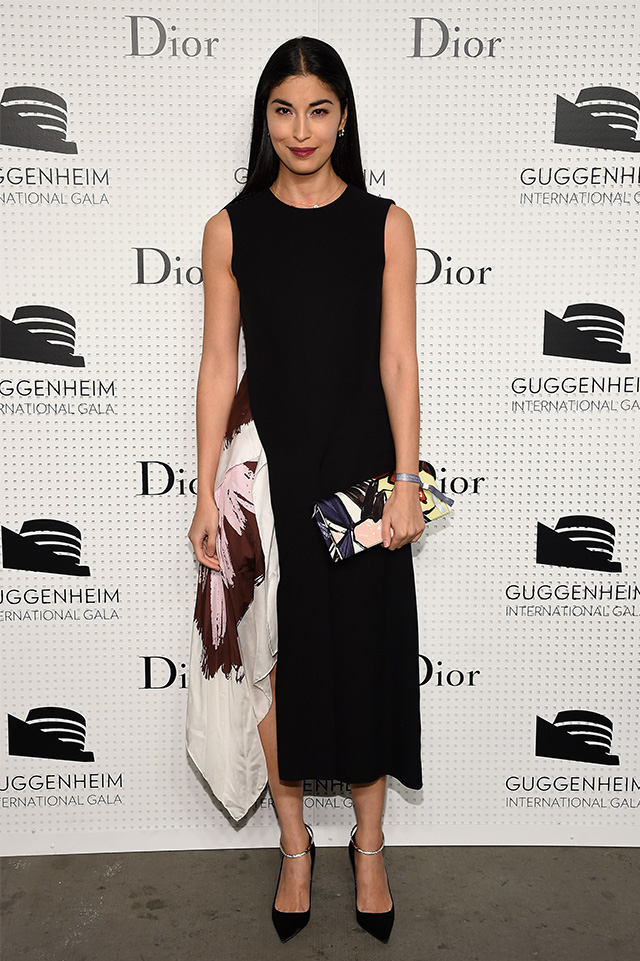 Нью-Йорк: pre-party Guggenheim International Gala