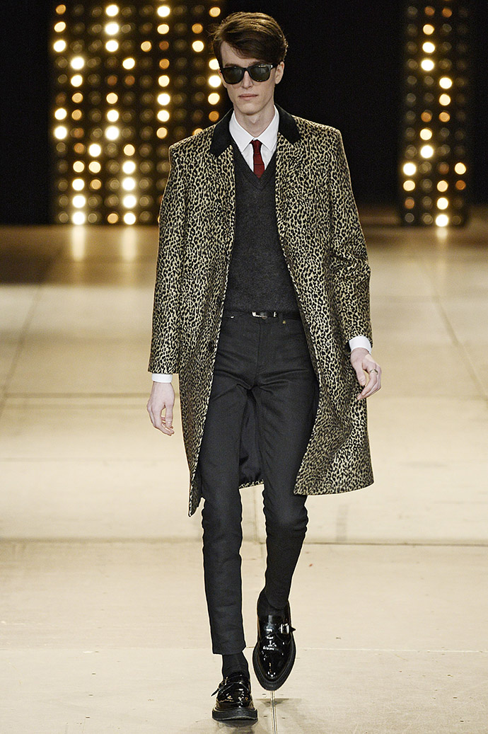 Saint Laurent, осень-зима 2014
