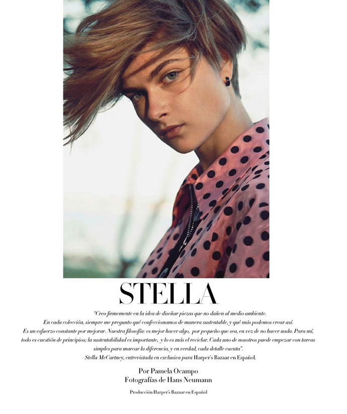 Stella McCartney Special в мексиканском Harper's Bazaar