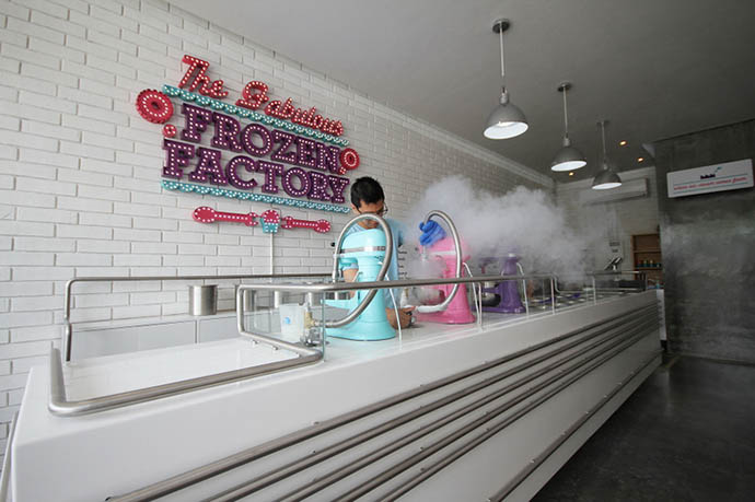 Желатерия The Fabulous Frozen Factory в Мексике