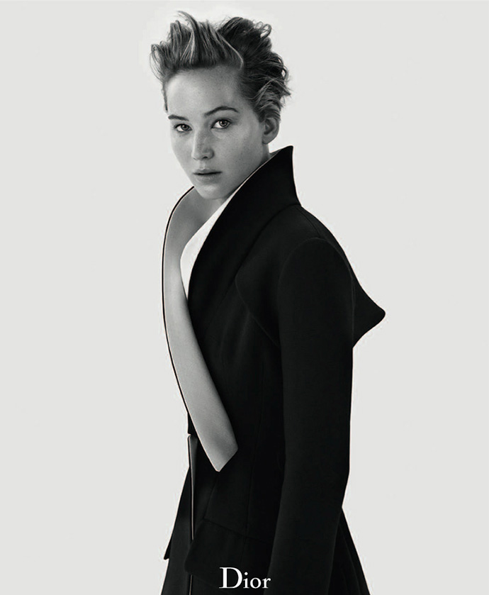 JENNIFER LAWRENCE FOR DIOR MAGAZINE