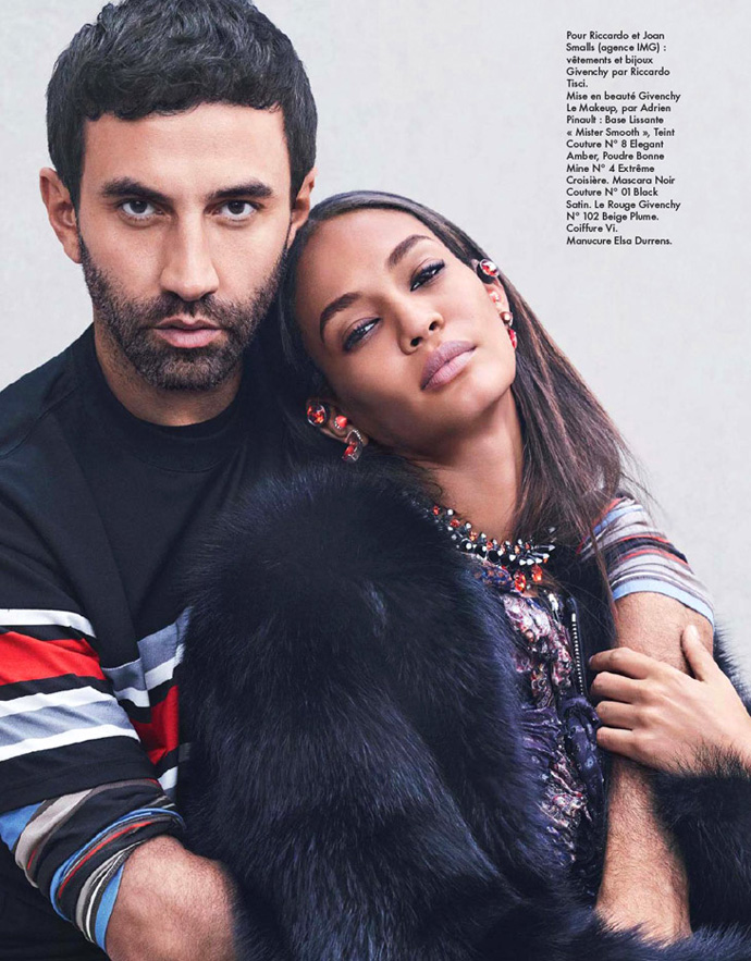 Joan Smalls in Givenchy for Elle France