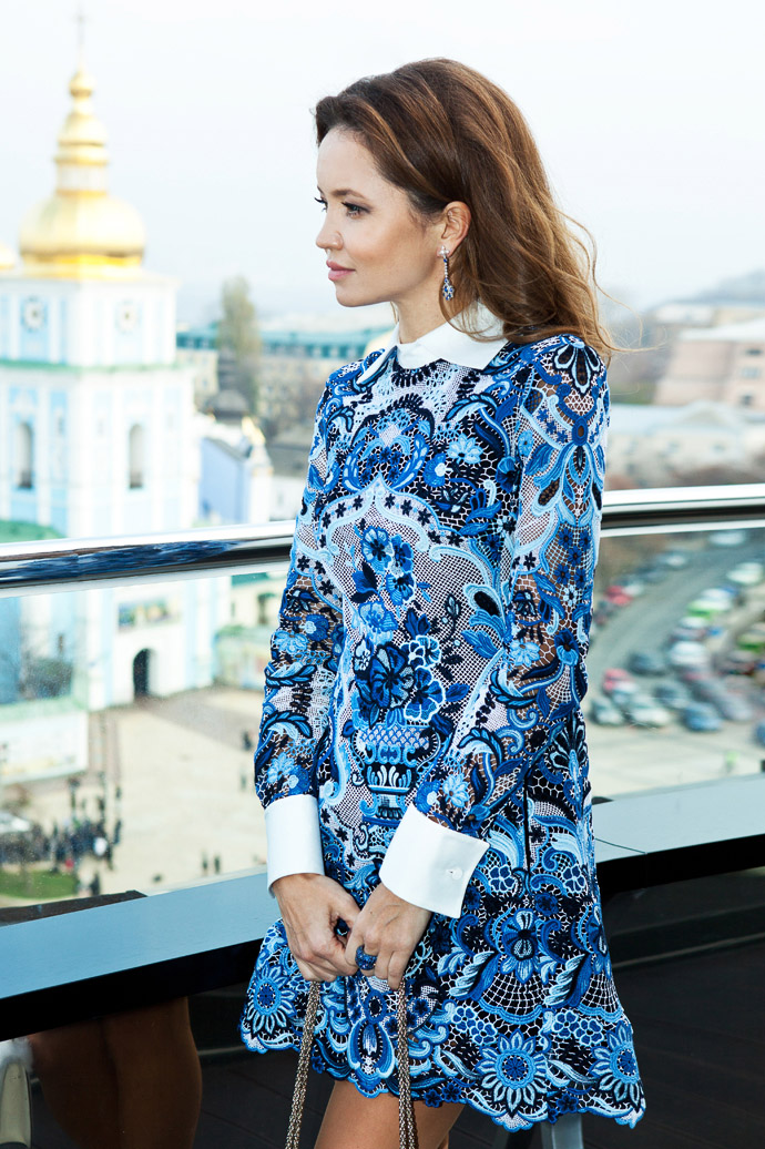 Look of the Week Faberge: Иванна Никонова