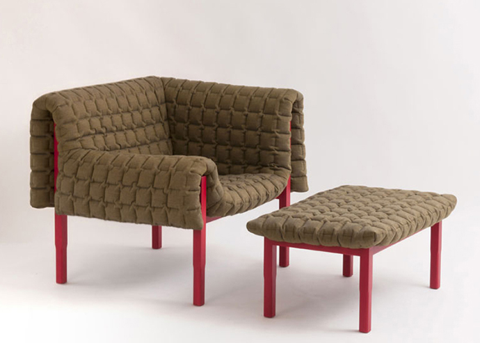 Ruche Armchair by Inga Sempe