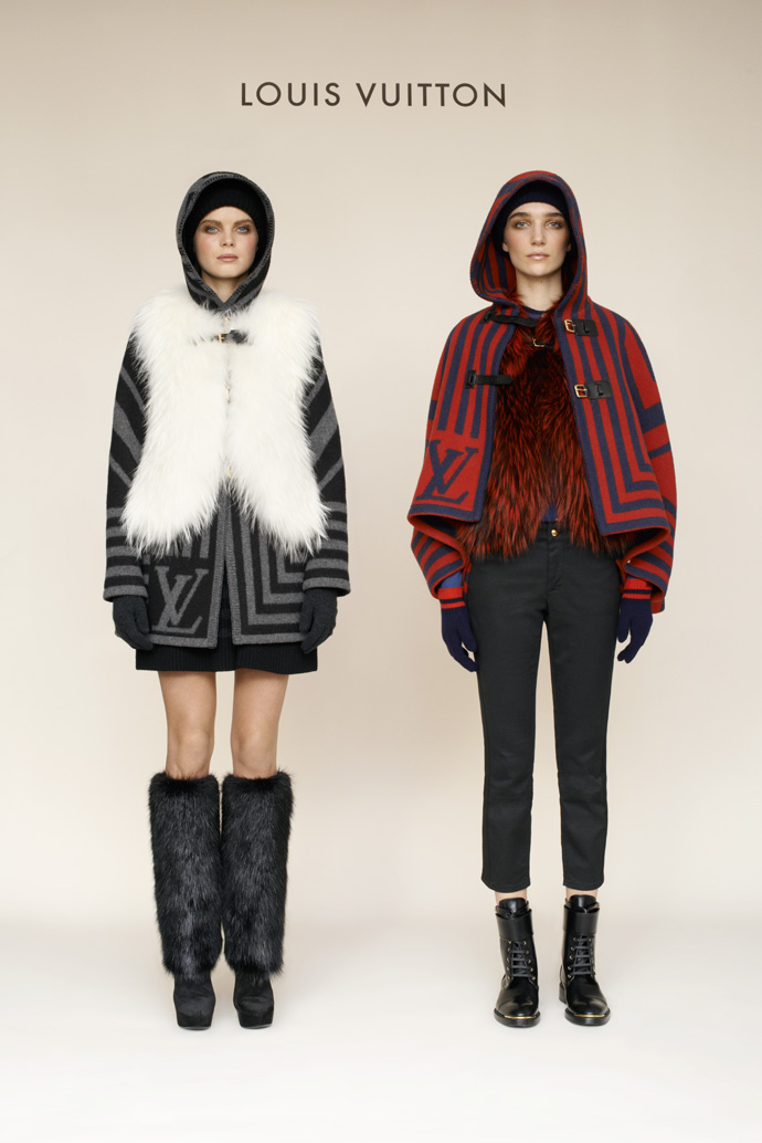 Лукбук коллекции Louis Vuitton pre-fall 2013