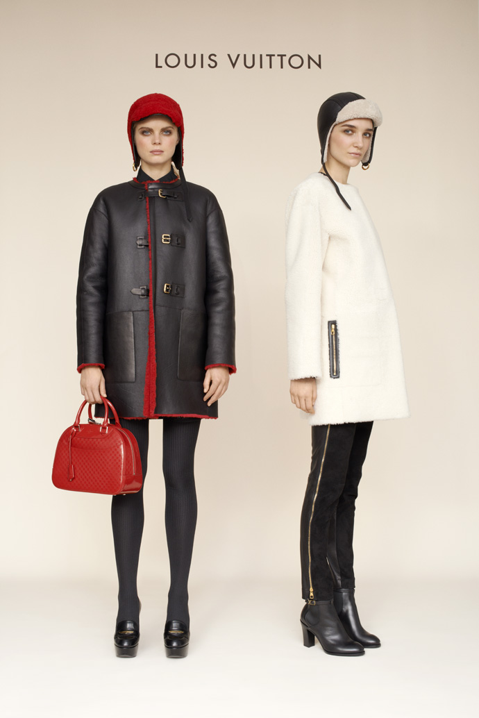 Лукбук коллекции Louis Vuitton pre-fall 2013 (фото 1)