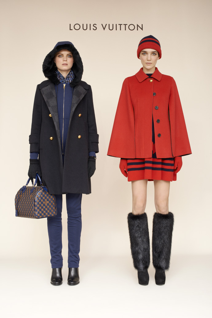 Лукбук коллекции Louis Vuitton pre-fall 2013 (фото 3)