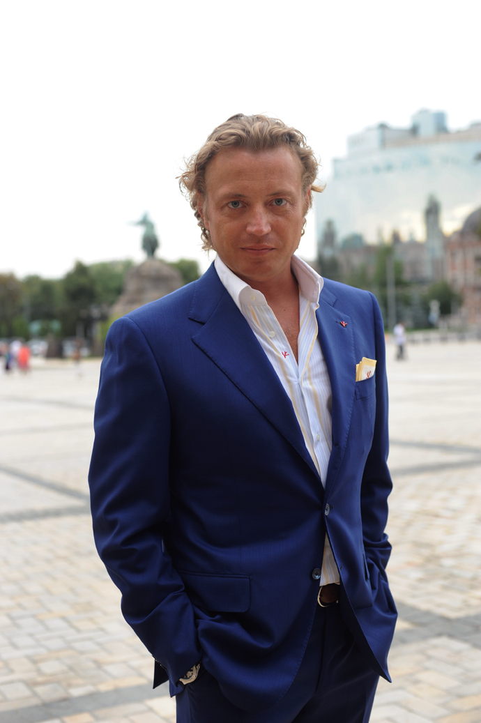 Look of the Week Isaia: Олег Рыжов