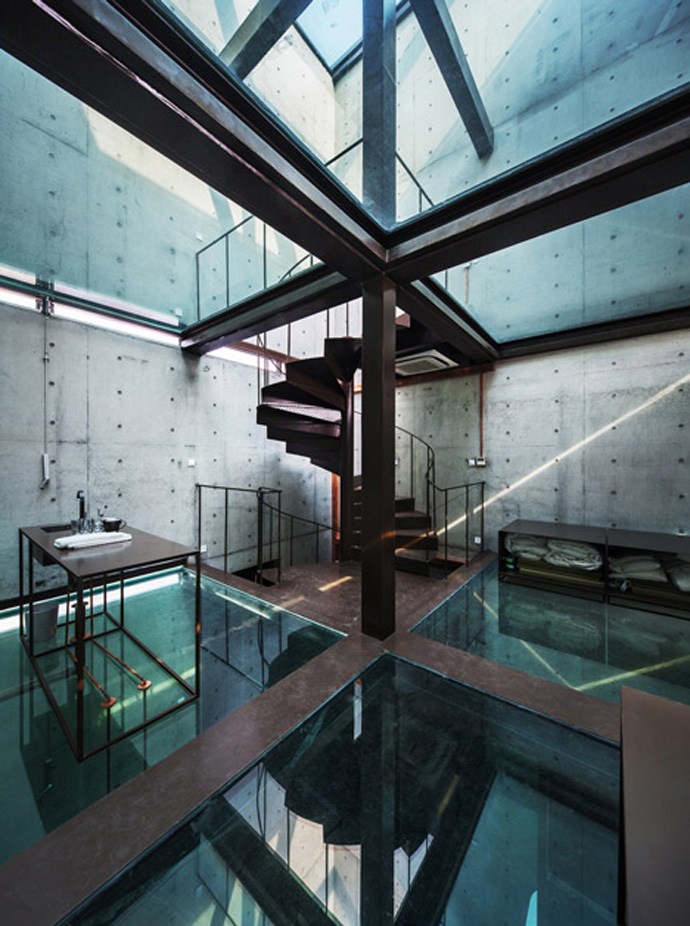 Vertical Glass House