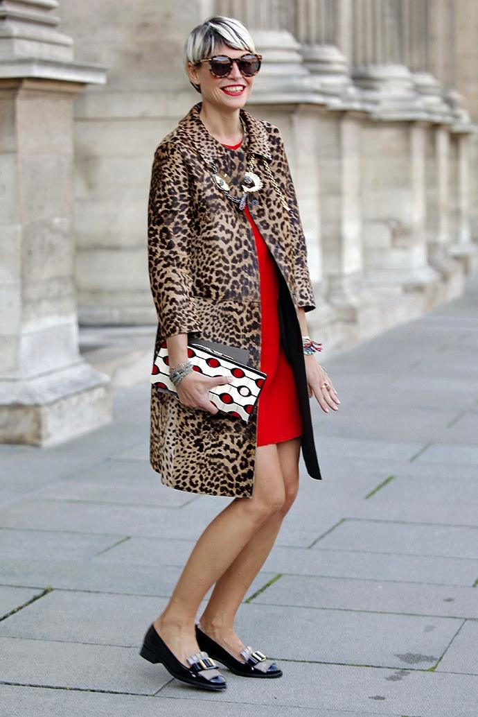 Street Style: Неделя моды в Париже. Часть 7 (фото 7)