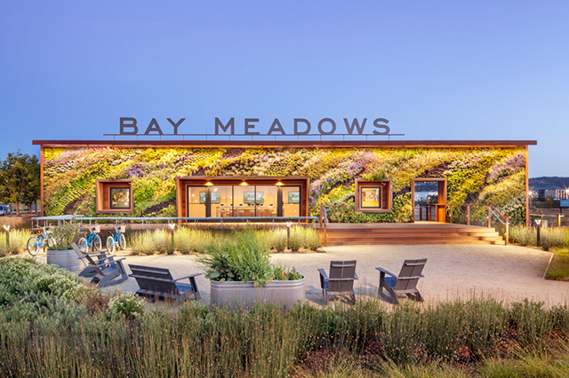 Bay Meadows Welcome Center