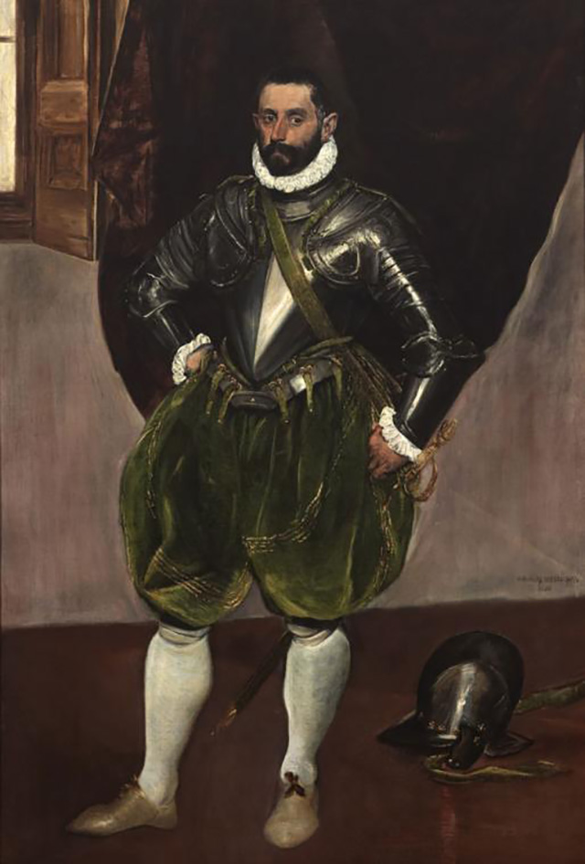 Men in Armor: El Greco and Pulzone Face to Face