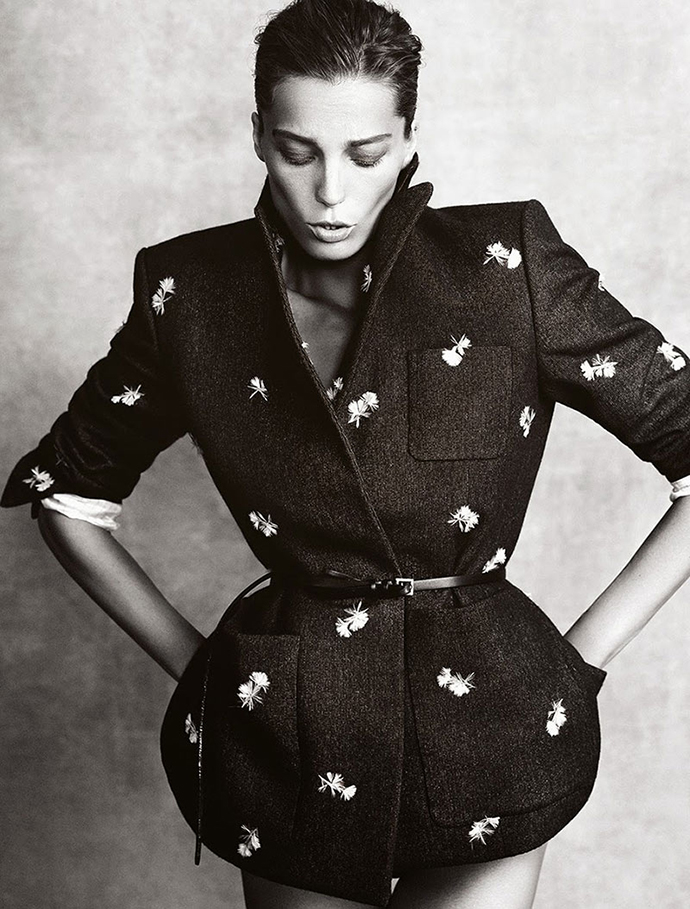 DARIA WERBOWY FOR MADAME FIGARO NOVEMBER 2013