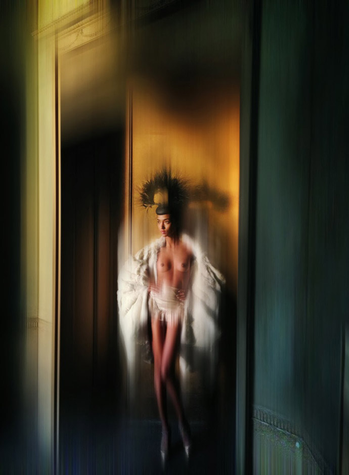 """Isabella Blow"" by Nick Knight for V"