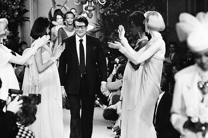Ретроспектива Yves Saint Laurent на Salon du Vintage (фото 1)