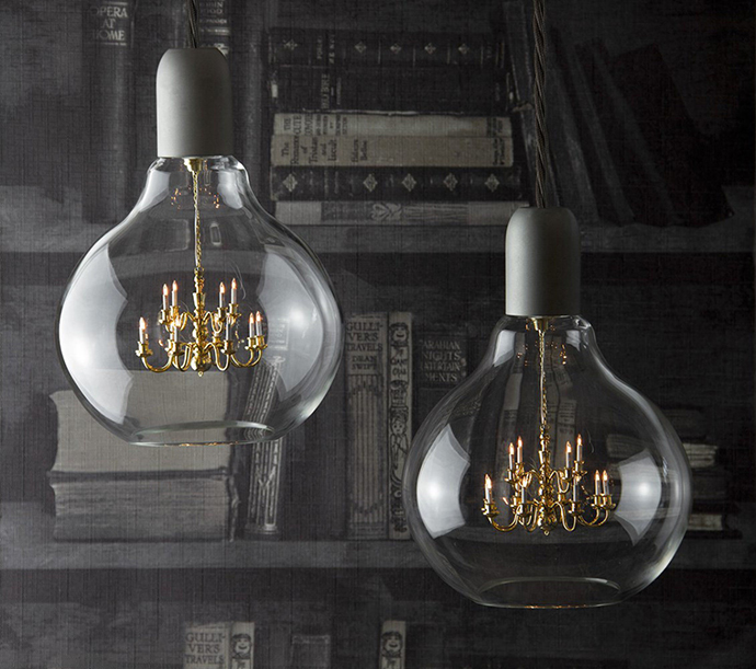 Люстра King Edison Lamp от Young & Battaglia