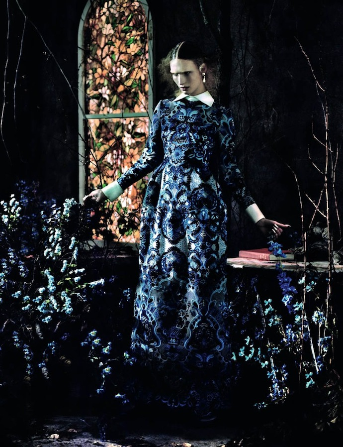 Съемка Valentino Special в Another Magazine (фото 5)