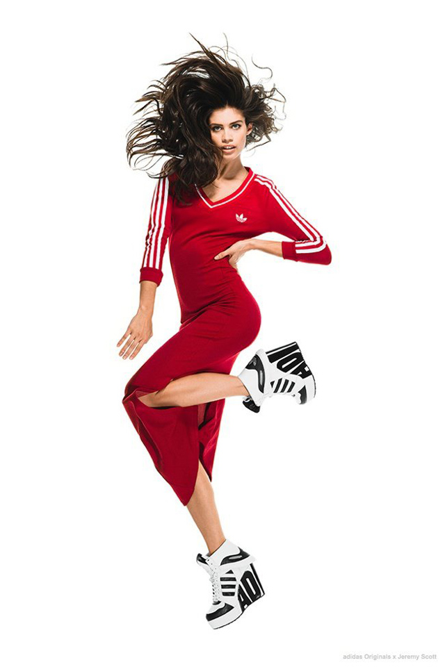 Лукбук коллекции adidas Originals by Jeremy Scott (фото 6)