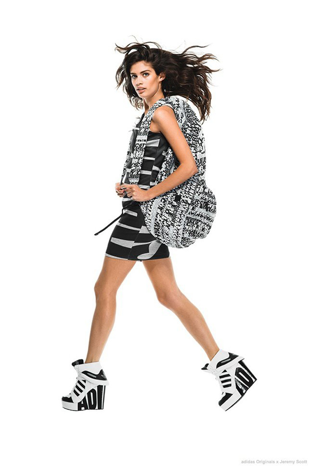 Лукбук коллекции adidas Originals by Jeremy Scott (фото 4)