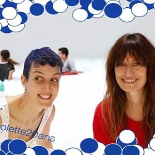 HAPPY 20 @colette   and thank you for all your support! Merci @sarahcolette and Keep your hair blue! #blueisthewarmestcolor  #poolballs Merci @guillaume_colette