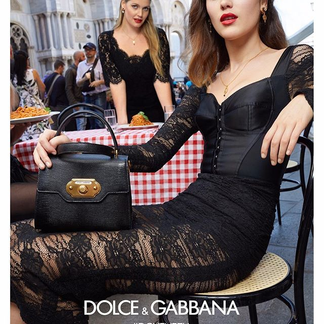 dolce and gabbana advertisement 'game of thrones' stars emilia clarke and kit harington have wasted no time in getting snatched up to face the new dolce & gabbana campaign.