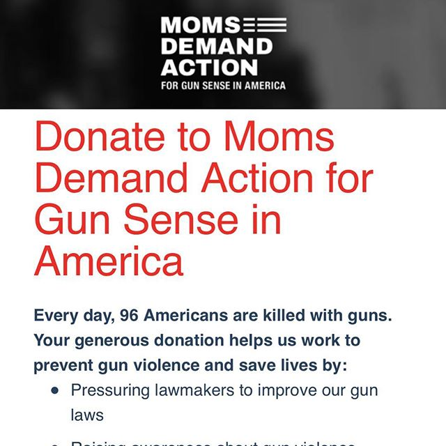 @everytown . Donate now. #everytownforgunsafety