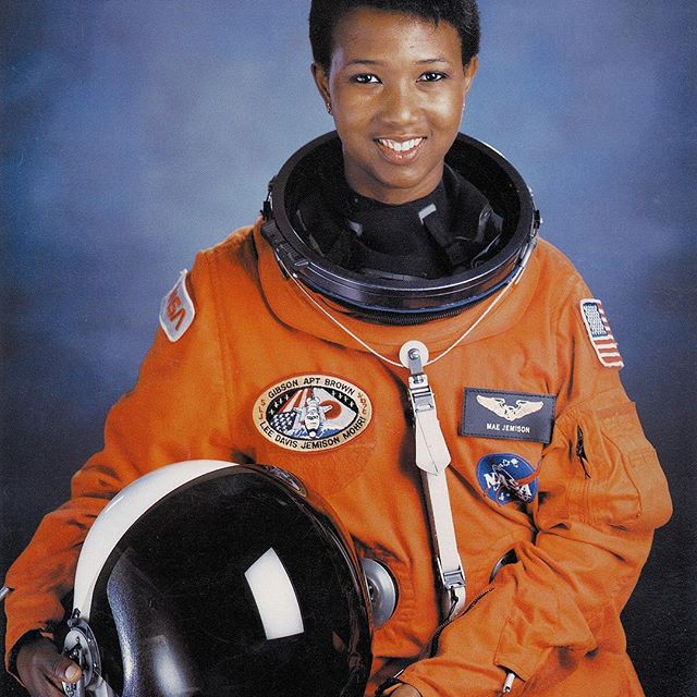 Mae Carol Jemison is an American engineer, physician and NASA astronaut. She became the first African American woman to travel in space when she went into orbit aboard the Space Shuttle Endeavour on September 12, 1992. She resigned from NASA in 1993 to found a company researching the application of technology to daily life. #blackhistorymonth #blackexcellence