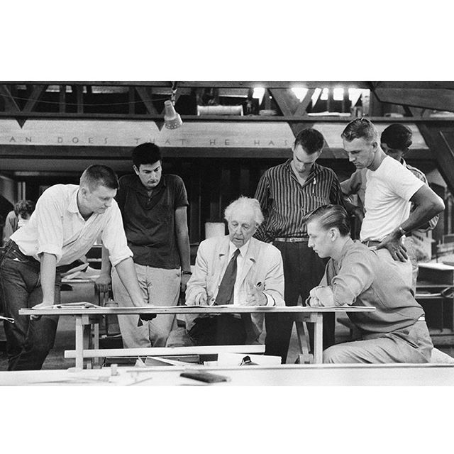 Marvin Koner; 'Frank Lloyd Wright and the Taliesin Fellowship', 1958