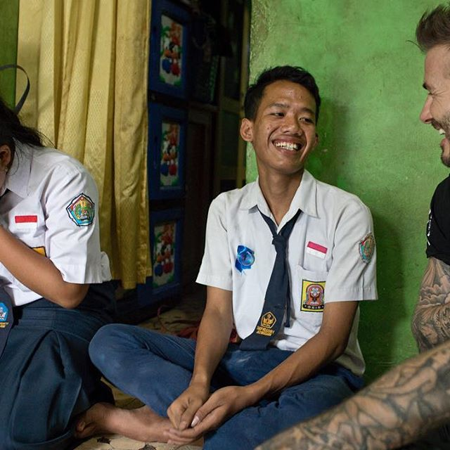 What an incredible few days in Indonesia seeing how UNICEF s anti-bullying programmes are creating positive school environments so children feel safe to thrive and succeed. Young girls like Sripun and many more that I ve met in Indonesia are our future. My 7 Fund for @unicef is on a mission to help children   especially girls   break down barriers that threaten to steal their potential away. We re tackling bullying, violence, child marriage and missed education so children get the chance to realise their full potential. #ENDViolence