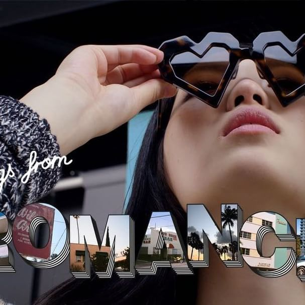 Greetings from Romance    Maison Kitsuné #SS18 Collection #LastExitToRomance    Photo by @nicolemariawinkler Video by @paul_bliss Style by @charlottecolletcollet Produced by @pundersonsgardens Music by @dopla_uk -   Coming Home   available on #KitsuneHotStream
