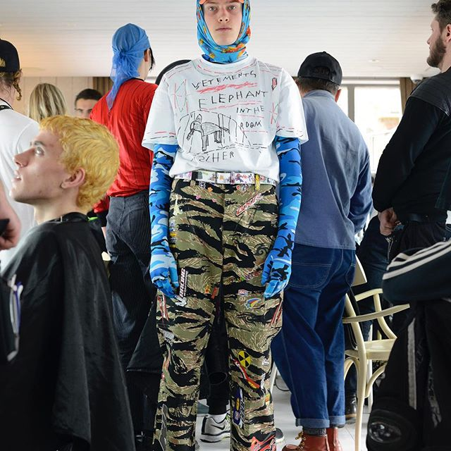 VETEMENTS FALL WINTER 2019 BACKSTAGE - FIRST DROP AVAILABLE @harrods