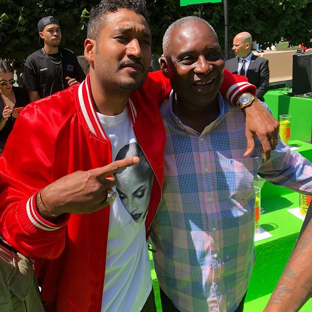 WWD, Virgil Abloh s dad Nee and Don Crawley, cofounder of