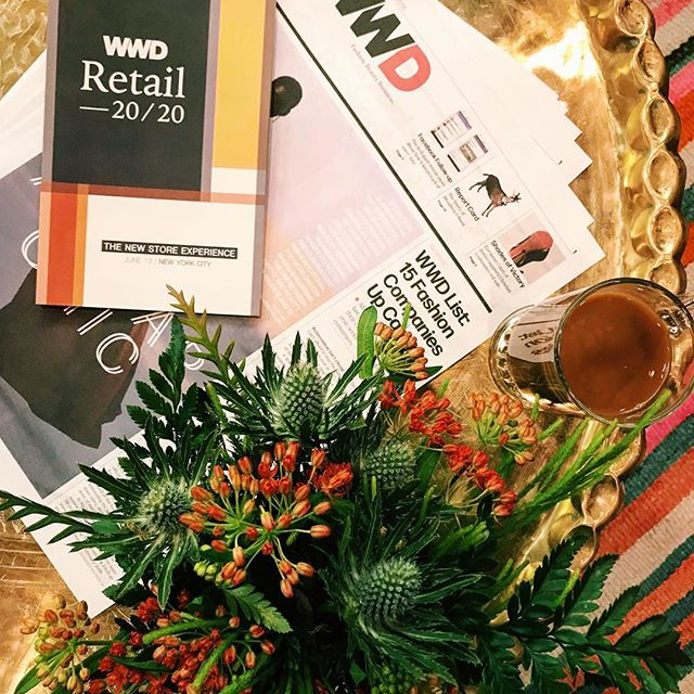 Today we re at the WWD Retail 20/20 Forum where industry leaders will be talking about the future of shopping for fashion, footwear and beauty. Tune in on Instagram Live at 9 am and 3:30 pm to hear from two of our speakers    @therealreal s Rati Levesque and @bandier s Stephen Ippolito. #wwdsummits ( : @elizaflorendo)