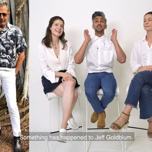 @queereye s style expert @tanfrance came to WWD s office to rank the best and worst of men s fashion for summer   from @Jeff Goldblum to @johnmayer. Link in bio to watch the full video. ( : @zackgranted)