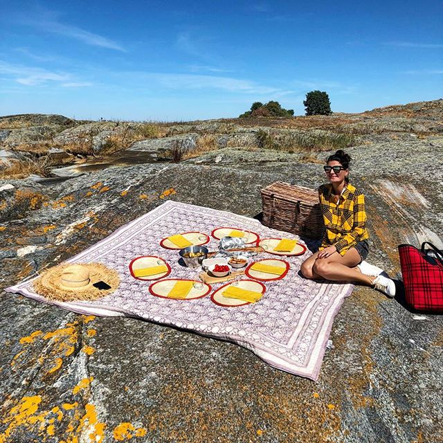 Just Love   Picnic  in the Archipelago Island