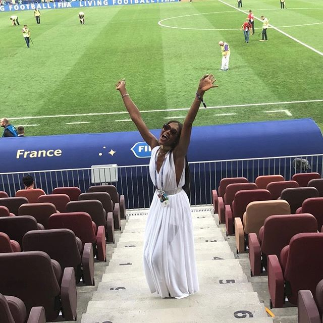 VIVA FRANCE        #WORLDCUP2018 RUSSIAWITHLOVE   SS19 @azzedinealaiaofficial