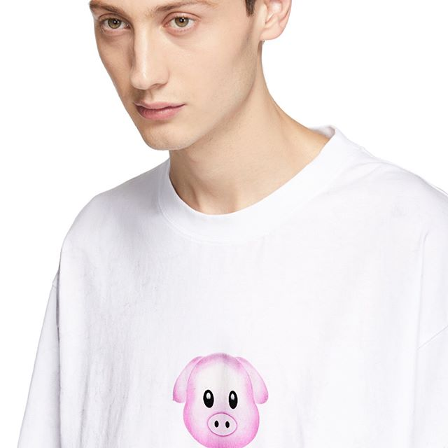 YEAR OF THE PIG LUCKY UNISEX T-SHIRT - OUT NOW www.ssense.com @ssense