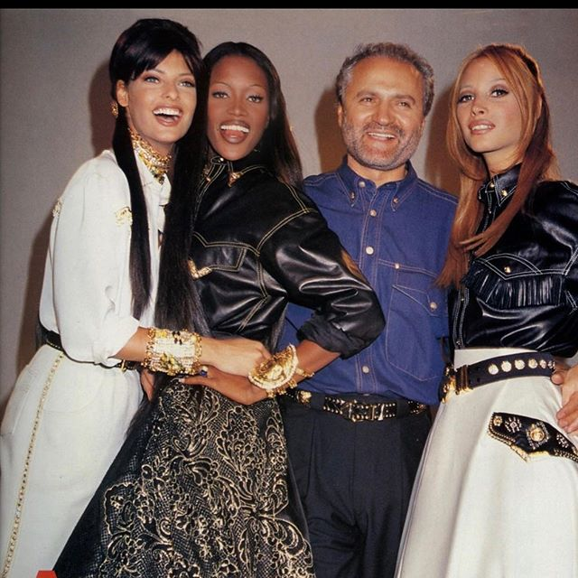 21 years ago today we lost our beloved ##GIANNI VERSACE !! YOU WERE SO A HEAD OF YOUR TIME . MANY THINGS YOU TOLD ME HAVE COME TO LIGHT . YOU WERE SIGNIFICANT IN MY LIFE AND I WILL BE ETERNALLY GRATEFUL I LOVE YOU ALWAYS IN MY HEART