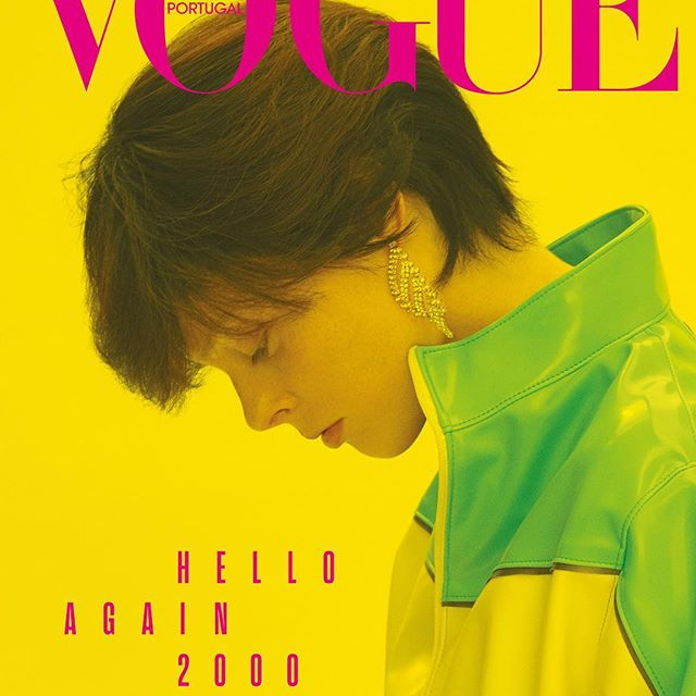 NEW COVER @vogueportugal HELLO AGAIN 2000