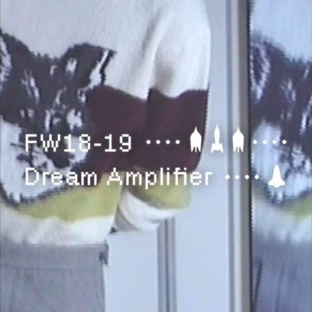 Explore the world of   Dream Amplifier      Maison Kitsuné #FW18 Men s Collection. Now available in-stores and online #DreamAmplifier