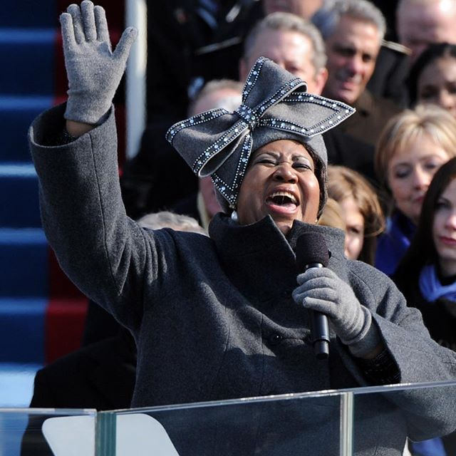 Aretha Franklin s Inauguration performance   and her now-iconic hat   got a lot of attention back in 2009.  The Luke Song chapeau is now a national artifact at the Smithsonian.  It just took on a life all its own,  she told WWD a few days after her performance, surprised it had received that much attention.  Well, I do have good taste, I do have good taste.  #wwdeye #arethafranklin