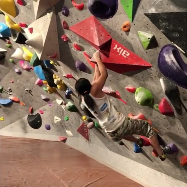 Rock climber @ashimashiraishi   who, at 15 years old was the first woman to ever ascend the second-highest grade of difficulty in the sport   is going through changes, reports @maxinesleep . The now 17-year-old  recently relocated from New York to Tokyo to train, is preparing to compete in the next Summer Olympics where rock climbing will be a recognized sport for the first time.  Climbing itself, a lot of it is about solving the climb,  she says.  When you look at it, you don t fully comprehend where you re going to put your feet, your hand placement. But the more you try, the more you learn about it. You find these little details and they help you excel and get closer to the goal. The more information you get from trying and falling, the more you can improve on what you re doing. And eventually, you might end up getting to the top.  #wwdeye (  @ashimashiraishi )