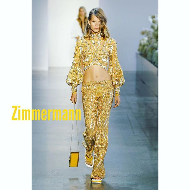 @zimmermann           #nyfw #nyfw2018 #newyorkfashionweek #newyork #nyc #fashionismypassion #fashionismyprofession #fashion #highfashion #Zimmermann #lovemyjob #lovemywork #model #modelling #womenmanagement #modellife #modeldays #modelday #gold #richbitch