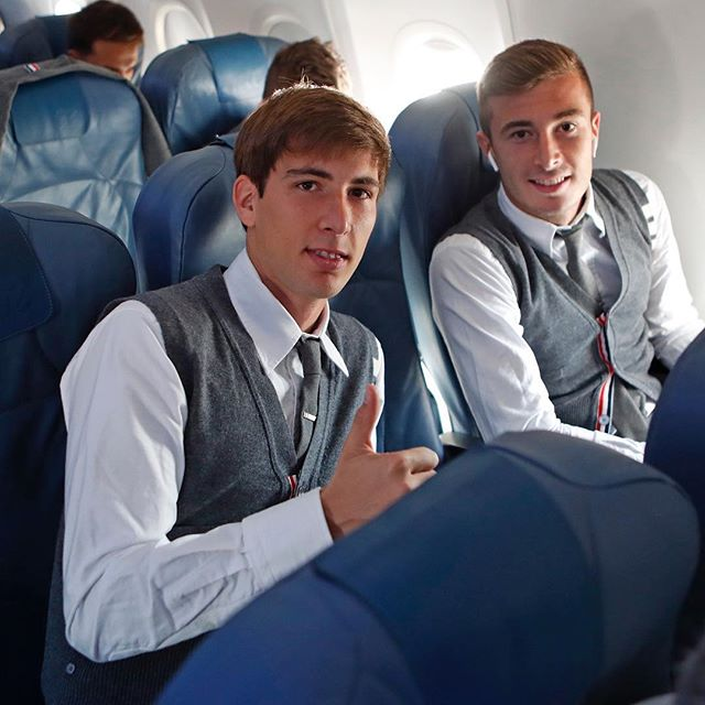 ... suited ... the fc barcelona soccer club wears thom browne to the champions league  #thombrowne #fcbarcelona