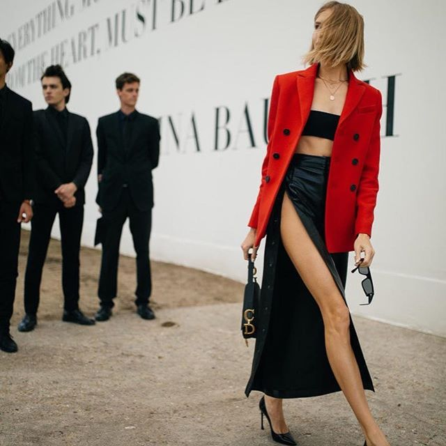 Just a moment from @dior show