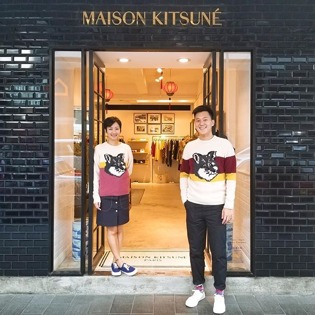 From Hong Kong with Love      Wing & Cody from our Causeway Bay store    #HongKongais