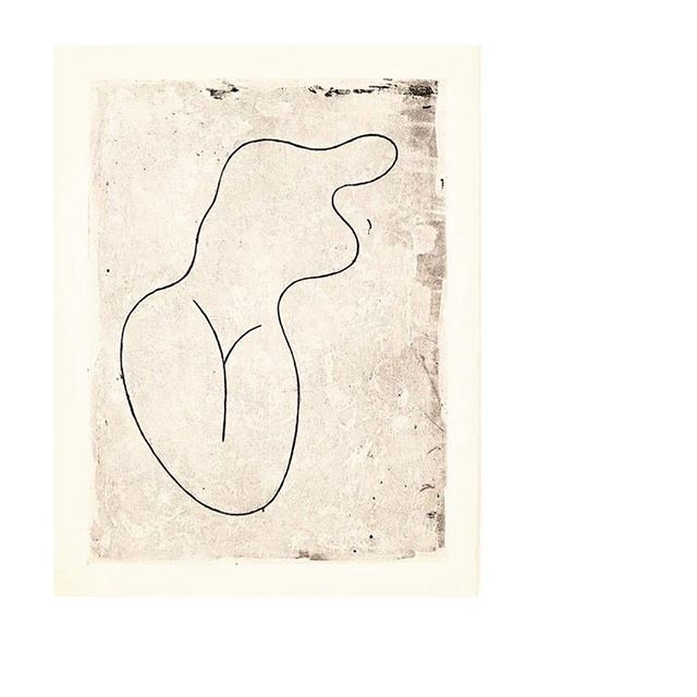Mood of the day.  I see a girl. Me. #JeanArp #art