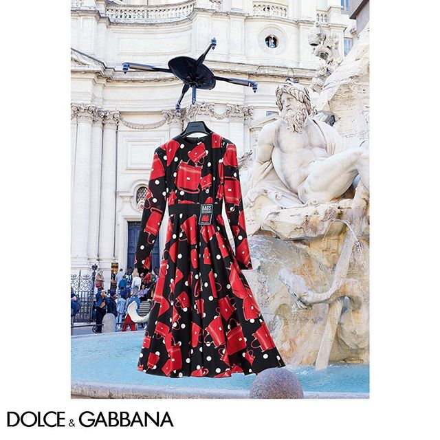 Showcasing the Dolce&Gabbana FW18-19 Campaign with a little help from #DGDrone. Link in bio.  Shot in Rome by The Morelli Brothers.  #DGRoma #DGCampaign #DGWomen #DGFW19 #DGFashionDevotion @morellibrothers