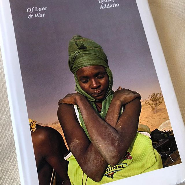 Congratulations on the launch of your new book Of Love & War @lynseyaddario !  You such an inspiration my friend ! After two decades traveling to the worlds most urgent humanitarian and human rights crises. Her photos share the story of war and injustice but also show humanity, dignity and resilience.